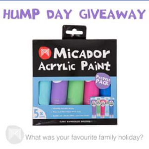 Micador – Win One of Two Acrylic Paint Packs