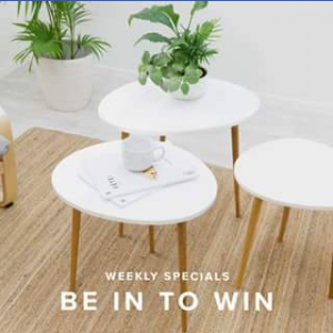 Mocka Australia – Win a Set of Maya Trio Tables