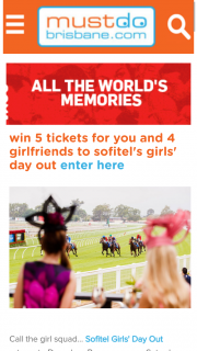 Must Do Brisbane – Win 5 General Admission Tickets Each to Sofitel Girls' Day Out on Saturday