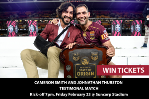 MyCityLife – Win a Double Pass to a Night With Cameron Smith and Jt