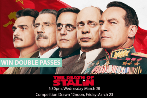 MyCityLife – Win a Double Pass to The Death of Stalin