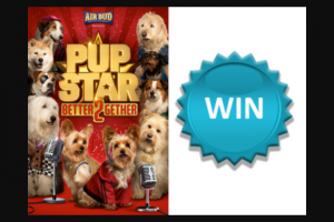 Northern Beaches Mums [Sydney residents only] – Win 1 of 2 Family Passes to See 'pup Star (prize valued at $52)