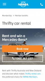 NRMA – Win a Mercedes Benz Gla 180