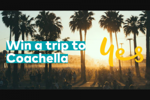 Optus Postpaid mobile customer – Win a Trip for You and 3 Friends to Coachella In California