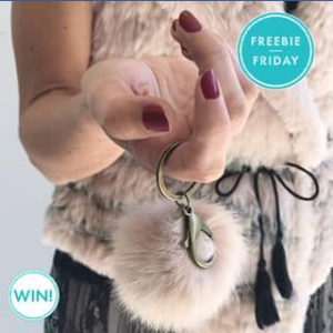 Pacific Fair Shopping Centre – Win 1 of 5 Flannel Constantine Furry Keyrings (prize valued at $45)