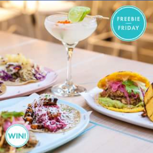 Pacific Fair Shopping Centre – Win 1 of 5 $25 Vouchers Plus a Cocktail Voucher for Comuna Cantina