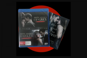 QBD Books – Win 1 of 25 Fifty Shades of Grey Movie Prize Packs