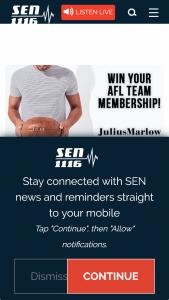 SEN 1116 – Julius Marlow – Win Your 2018 AFL Team Membership Thanks to Julius Marlow