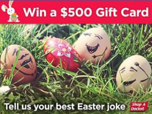 Shop-A-Docket – Win a $500 Woolworths Gift Card