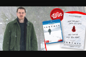 Stack Magazine – Win a Snowman Poster Signed By Michael Fassbender Rebecca Ferguson and Tomas Alfredson