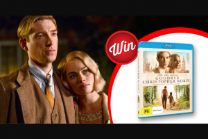 Stack Magazine – Win 1/10 Goodbye Christopher Robin DVDs