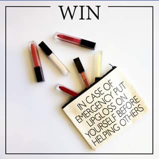 Synergie Skin FB – Win 1 of 3 Lipglo Sets