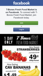 T-Bones Fresh Food Market – Win Either $100 Or $50 Voucher