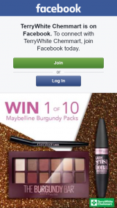 TerryWhite Chemmart – Win a 3-piece Maybelline Prize Pack