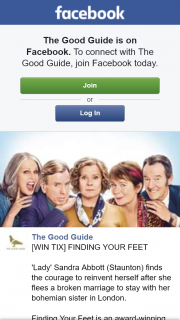 The Good Guide – Win an In-Season Double Pass