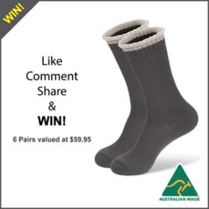 Wearproof – Win a Pair of Mainlander Socks (prize valued at $59.95)