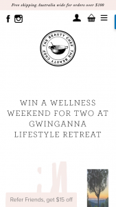 Win a Wellness Weekend for Two at Gwinganna Lifestyle Retreat (prize valued at $2,550)