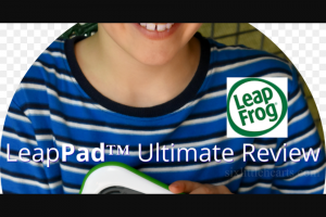 Win The Latest Leappad Ultimate Tablet Pc for Your Child Worth $199.95.