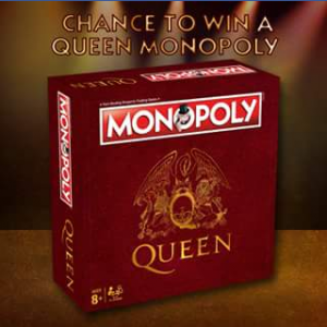 Winning Moves – Win Your Very Own Queen Monopoly