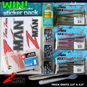 Z-Man Lures Australia – Win a Lures Prize Pack for You & a Mate
