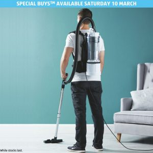 ALDI Australia – Win a brand new backpack vacuum cleaner valued at $139