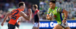 ActewAGL – Win a double pass to see the Canberra Raiders vs Vodafone Warriors & a double pass to see GWS Giants vs Western Bulldogs