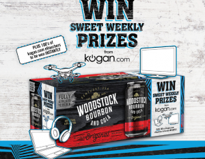 Asahi Premium Beverages – Win 1 of 20 Weekly prizes of iPhone 8, fridge, Apple TV and more OR 1 of 201 Instant Win prizes of Kogan eVoucher