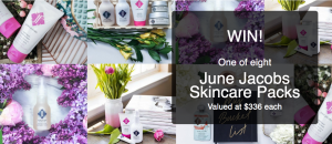 Bound Round – June Jacobs Skincare – Win 1 of 8 skincare packs valued at $336 each