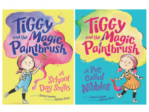 Bound Round – Tiggy and the Magic Paintbrush – Win 1 of 10 book packages valued at $12.99 each
