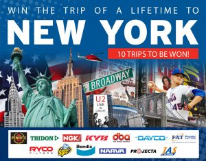Burson Automotive – Win 1 of 10 trips to New York valued at $12,000