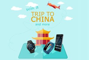Huawei – ITIC Skill – Win a first prize of a trip to China plus more OR 1 of 5 minor prizes