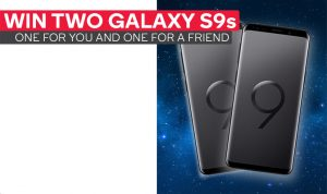Kogan Australia – Win 2 Samsung Galaxy S9s 64GB valued at $999 AUD each