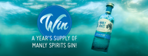 Manly Spirits – Win a year's worth of Manly Spirits Gin valued at $960