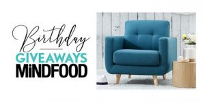 Mind Food – Birthday Giveaway – Win a Coast Armchair from Focus on Furniture valued at $699