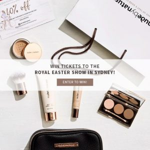 Nude by Nature – Win 1 of 3 double passes to the Sydney Royal Easter Show plus a show bag valued at $129 each