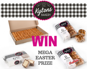 Play & Go Adelaide – Win a Mega Kytons Bakery Easter Goodies prize