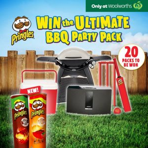 Pringles Australia – Ultimate Party – Win 1 of 20 Ultimate BBQ Party packs