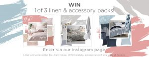 Snooze Australia – Win 1 of 3 linen & accessory packs valued at over $600 each