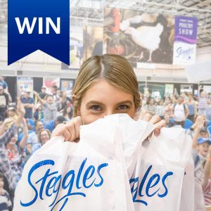 Steggles – Win 1 of 10 family passes to the 2018 Sydney Royal Easter Show valued at $138 each