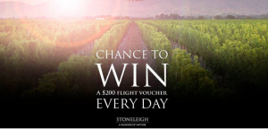 Stoneleigh – Win 1 of 21 Flight Centre travel vouchers valued at $200 each