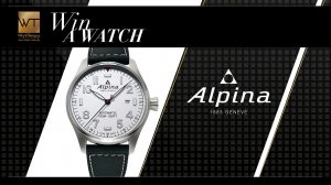 WorldTempus – Win an Alpina Startimer Pilot Automatic valued at CHF 895