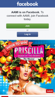 AAMI – Win a Double Pass to The Aami Preview Performance of Priscilla Queen of The Desert The Musical (prize valued at $919)