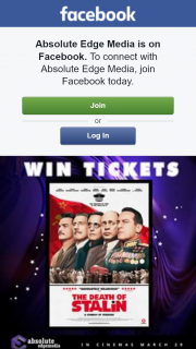 Absolute Edge Media – Win 1 of 5 Double Passes to See The Death of Stalin Thanks to Madman Entertainment