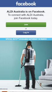 Aldi Australia – Win 1 X Easy Home Backpack Vacuum Cleaner Valued at $139. (prize valued at $139)