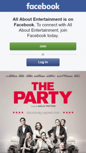 All About Entertainment – Win Tickets to The Party In Cinemas April 12