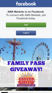 AMA Markets – Win 1 for Your and 1 for Your Besties Family Too