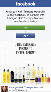 Amargan Hair Therapy Australia – Win Whats In this Picture