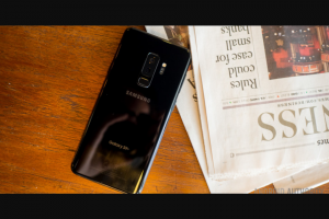 Android Authority – Win a Brand New Samsung Galaxy S9 Plus