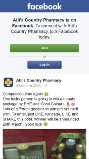 Atli's Country Pharmacy – Win a Beauty Package By She and Coral Colours