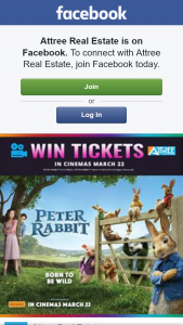 Attree Real Estate – Win 1 of 5 Double Passes to See Peter Rabbit Movie
